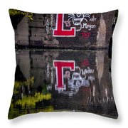Lafayette Leopards Throw Pillow