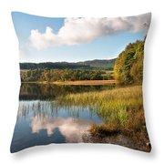 Loch Achray. Trossachs. Scotland Throw Pillow