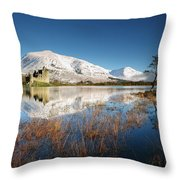 Loch Awe Throw Pillow