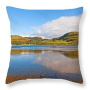 Loch Craignish Argyll Scotland Throw Pillow