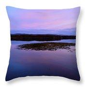 Loch Dunvegan At Sunrise Throw Pillow