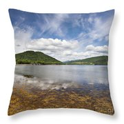 Loch Fine By Inveraray Throw Pillow
