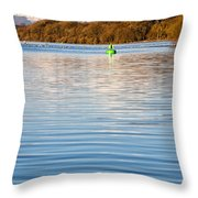 Loch Lomond Portrait Throw Pillow