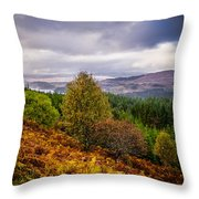 Loch Loyne Throw Pillow
