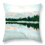 Loch Ossian Throw Pillow