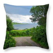 Lochaline Landscape Throw Pillow