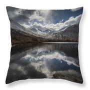 Lochan Urr Glen Etive Glencoe Scotland Throw Pillow