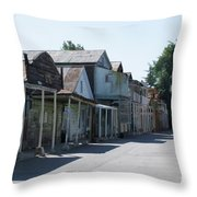 Locke Chinatown Series - Main Street - 1  Throw Pillow