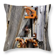 Locked Tight Throw Pillow