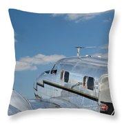 Lockheed Electra Jr. Throw Pillow