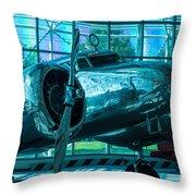 Lockheed Electra Throw Pillow