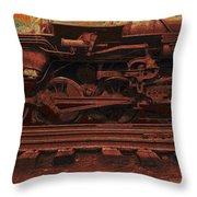 Locomotion 2 Throw Pillow