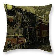 Locomotive 499  Throw Pillow