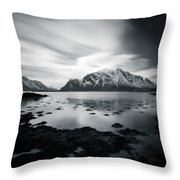 Lofoten Beauty Throw Pillow