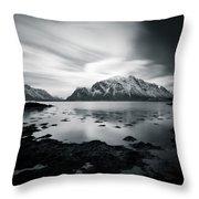 Lofoten Beauty Throw Pillow
