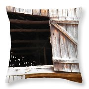 Lofty Hieghts Throw Pillow