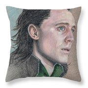 Loki From The Avengers Throw Pillow