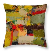 Lombard At Fillmore Throw Pillow