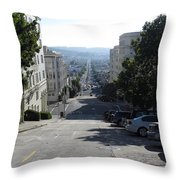 Lombard Street. San Francisco 2010 Throw Pillow