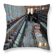 Lonaconing Silk Mill View Throw Pillow