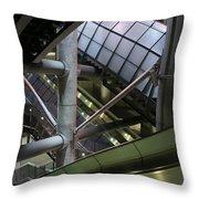 London 2050 Throw Pillow