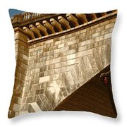 London Bridge Lake Havasu Az Throw Pillow
