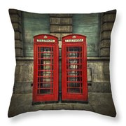 London Calling Throw Pillow by Evelina Kremsdorf