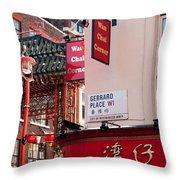London Chinatown 02 Throw Pillow