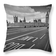 London - Houses Of Parliament  Throw Pillow