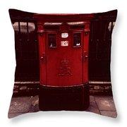 London Post Box 2 Throw Pillow