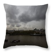 London River View Throw Pillow
