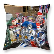 London Scooters Throw Pillow