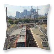 London Skyline Throw Pillow
