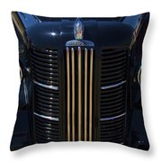 London Taxi Austin Fx3 1950's Era Throw Pillow