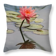 Lone Beauty  Throw Pillow