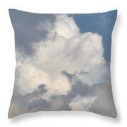 Lone Cloud Throw Pillow
