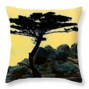 Lone Cypress Companion Throw Pillow