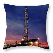 Lone Giant With Blue Sky Throw Pillow