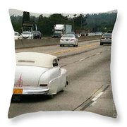Lone Kustom On 210 Throw Pillow