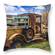 Lone Soldier Throw Pillow