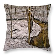 Lone Spring Throw Pillow