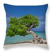 Lone Tree - Aruba Throw Pillow