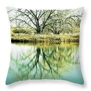 Lone Tree 2 Throw Pillow