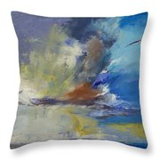 Loneliness Throw Pillow by Michael Creese