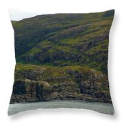 Lonely Coast 1 Throw Pillow