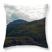 Lonely Coast 2 Throw Pillow