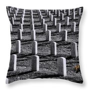 Lonely Flowers Throw Pillow