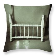 Lonely Headboard Throw Pillow