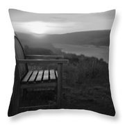 Lonely In The Waiting   Throw Pillow