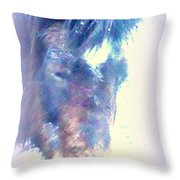 I Hope There Is Hope For A Lonely Pony Throw Pillow